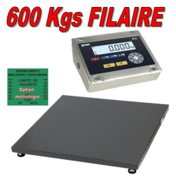 Balance industrielle 600Kgs resolution 100grs