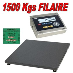 Balance industrielle 1500Kgs resolution 200grs